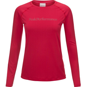 Peak Performance Gallos Co2 - T-shirt manches longues Femme - rose